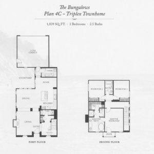 Plan 4C - Triplex Townhome-sm