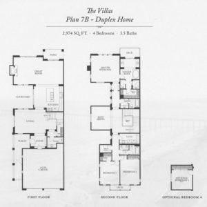 Plan 7B - Duplex Home-sm